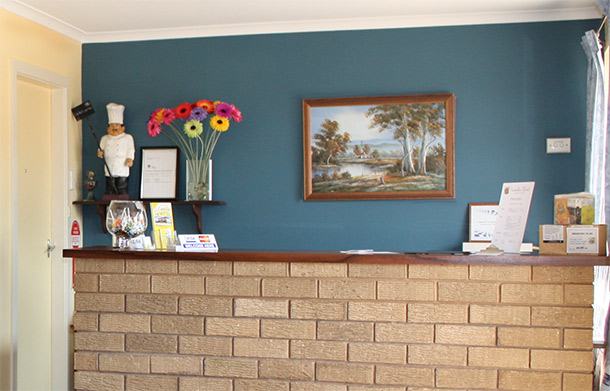 Camellia Motel Reception - Narrandera NSW